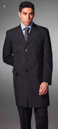 3-Button Overcoat-