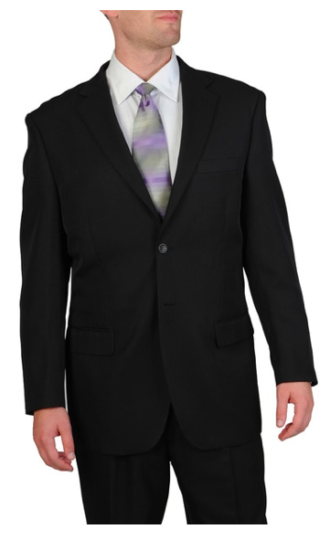 100% polyester suit