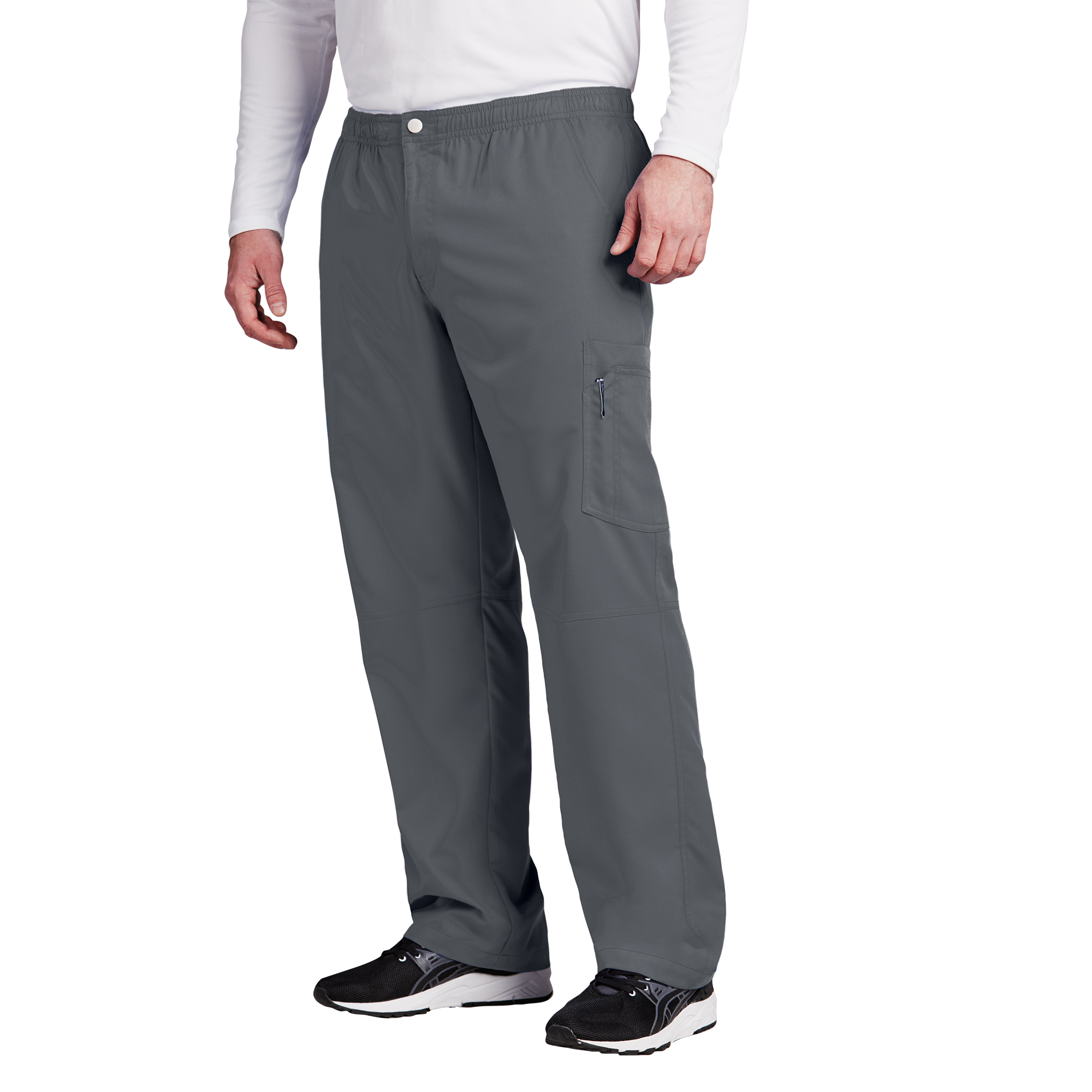 7pkt Cargo Zip Fly Button Pant