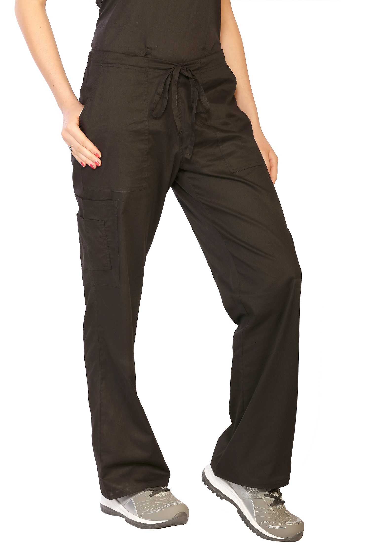 Womens Stretch Cargo Pants, LifeThreads Contego Collection