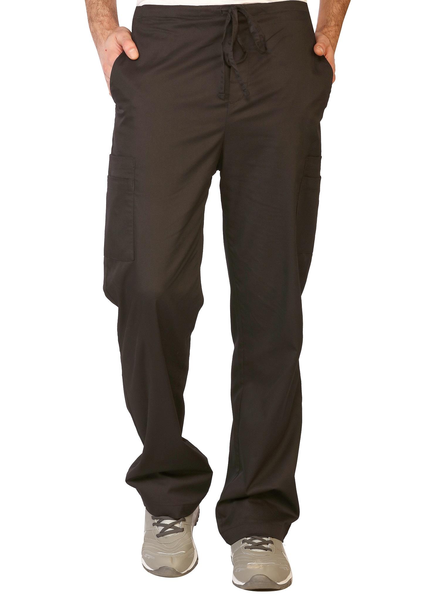 Mens Stretch Double Cargo Scrub Pants, LifeThreads Contego Collection