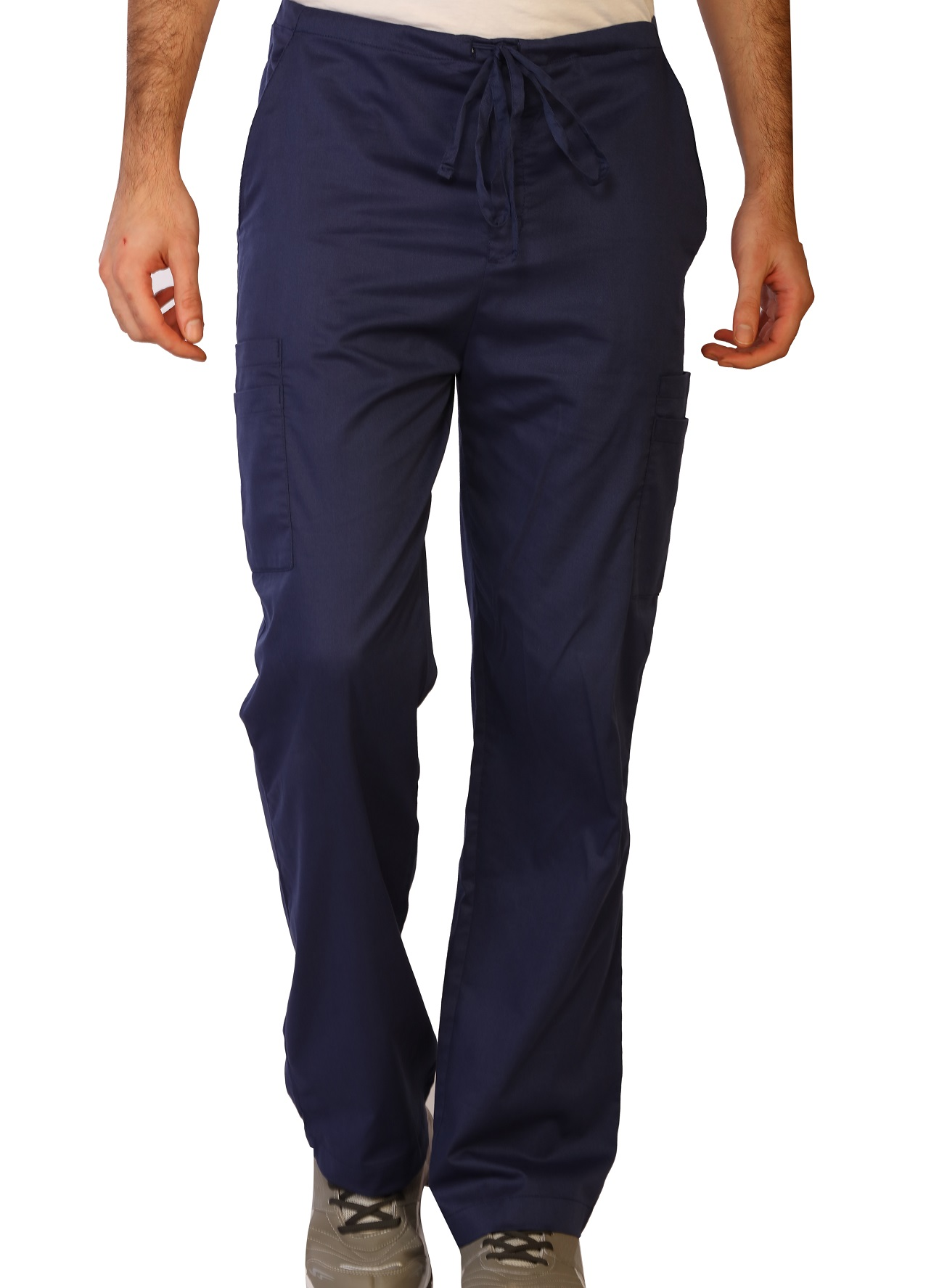 Men's Stretch Double Cargo Scrub Pants, LifeThreads Contego Collection -LifeThreads