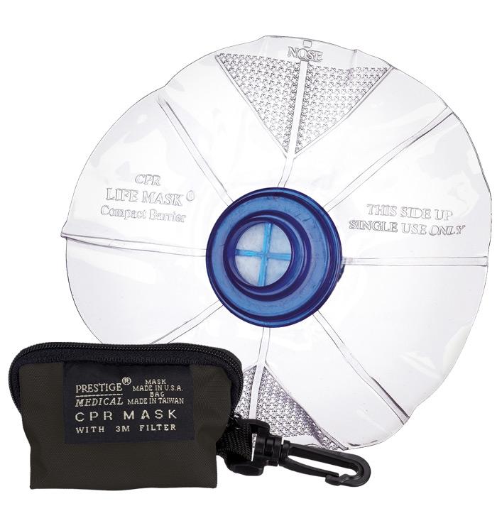 Prestige CPR Lifemask In Keychain Bag