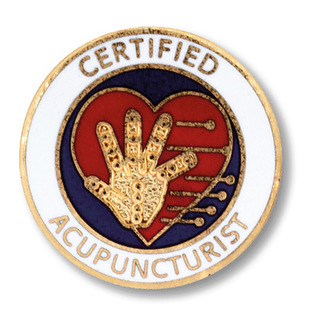 Certified Acupuncturist Pin-