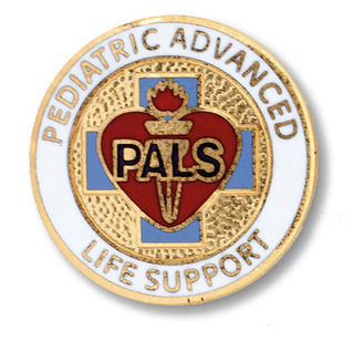 Pediatric Advanced Life Support Pin-Prestige Medical