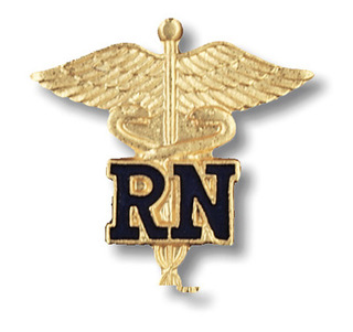 1021 Registered Nurse Pin-