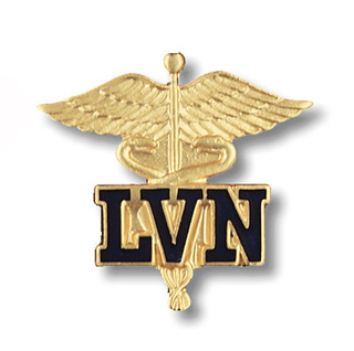Licensed Vocational Nurse Pin (Cal. & Tex. Only)-