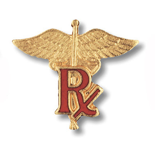 Pharmacist (RX) Pin-