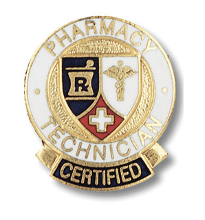 Certified Pharmacy Technician Pin-