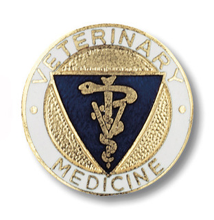 Veterinary Medicine Pin-Prestige Medical
