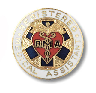 Registered Medical Assistant Pin-