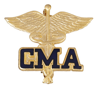Certified Medical Assistant Pin-