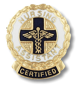 1075 Certified Nursing Assistant Pin-Prestige Medical
