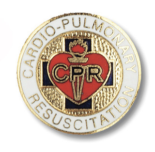 Cardio Pulmonary Resuscitation Pin-