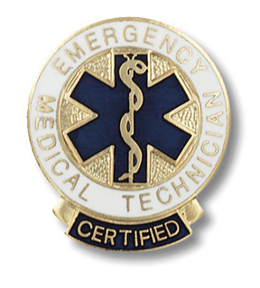 Certified Emergency Medical Technician Pin-