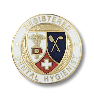 Registered Dental Hygienist Pin