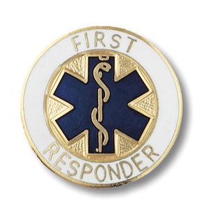 First Responder Pin