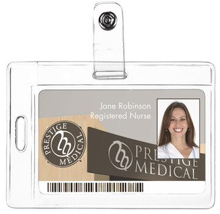 Two Way Id Holder-Prestige Medical