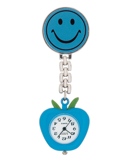 Smiley Face Lapel Watch