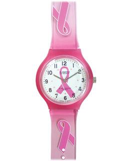 Pink Ribbon Scrub Watch