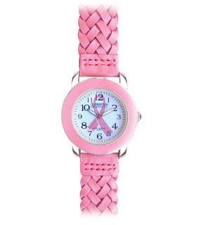 Woven Leather Band Fashion Watch