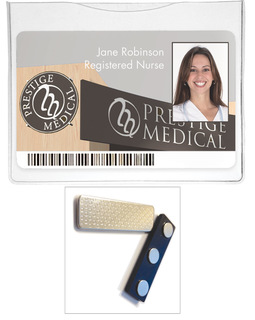 Magnetic Id Holder-Prestige Medical