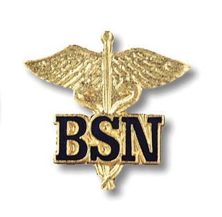 Bsn (Letters On Caduceus)-