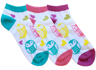Fashion Nurse Socks (Three-Packs)