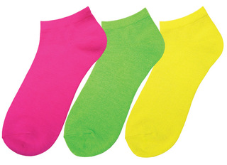 Neon Nurse Socks (Three-packs)-