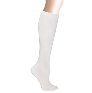 "14"" Microfiber Compression Socks-"