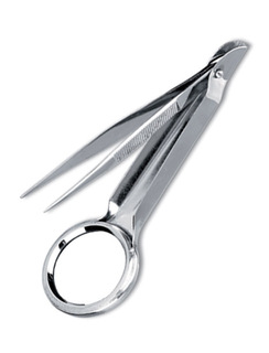"4.5"" Magnifying Splinter Forceps-Prestige Medical"