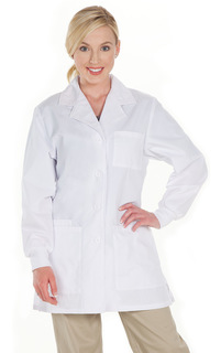Women's Fashion Lab Coat-
