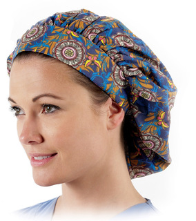 Bouffant Scrub Caps (Assorted Prints)-Prestige Medical