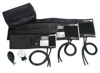 3-In-1 Aneroid Sphygmomanometer Set With Carry Case-Prestige Medical