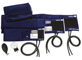 3-in-1 Aneroid Sphygmomanometer Set with Carry Case-