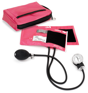 Premium Aneroid Sphygmomanometer with Carry Case-Prestige Medical