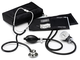 Basic Aneroid Sphygmomanometer / Dual Head Kit-Prestige Medical