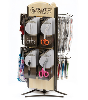 Rotating Counter Display-Prestige Medical