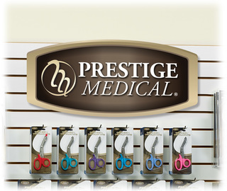 Slat Wall Hanging Display Sign-Prestige Medical