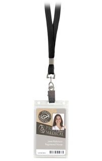 Basic Lanyard With Id Holder-