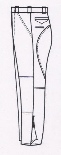 MOTOR/ MOUNTED BREECHES-Argo Uniform