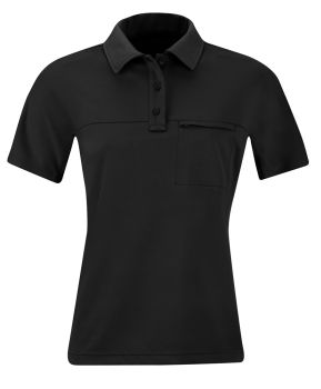 PROPPER ® Womens HLX Polo Short Sleeve Black-