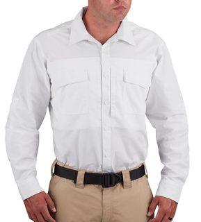 F53341M Propper Long Sleeve RevTac Shirt-Poplin White-