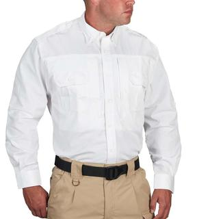 Propper Long Sleeve Tactical Shirt – Poplin White-