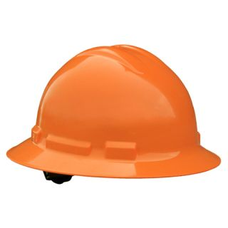 Radians Quartz Full Brim Hard Hats - 6 Point Ratchet Suspension WITH HARD HAT DECAL