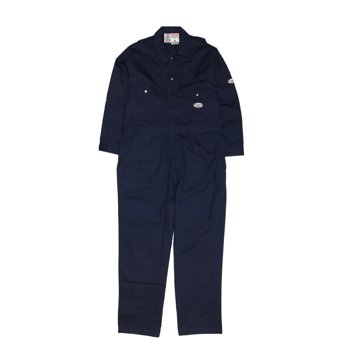 Navy FR HeavyweightCoverall-Rasco FR