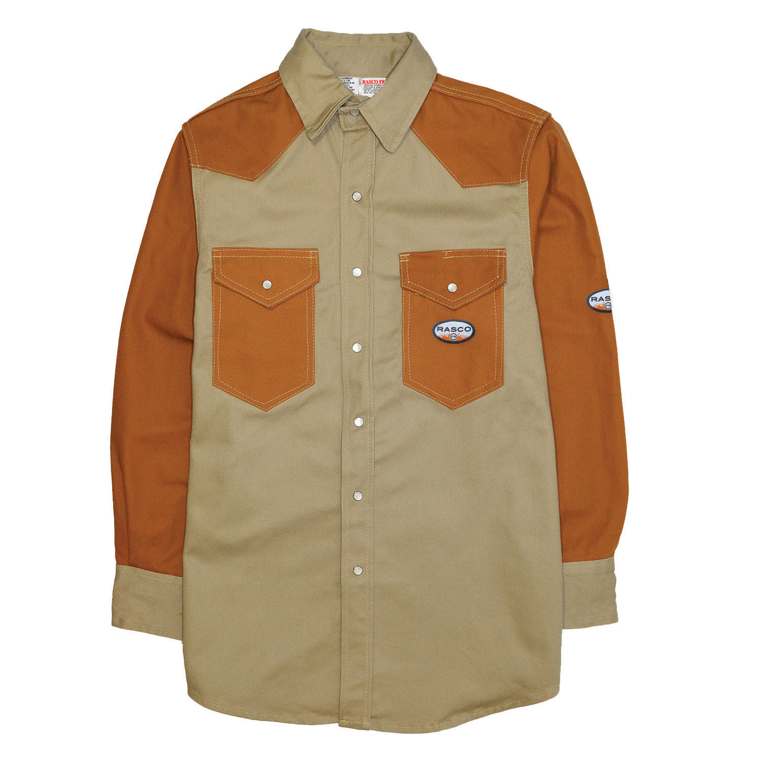 Denim-Duck FR Two Tone Work Shirt
