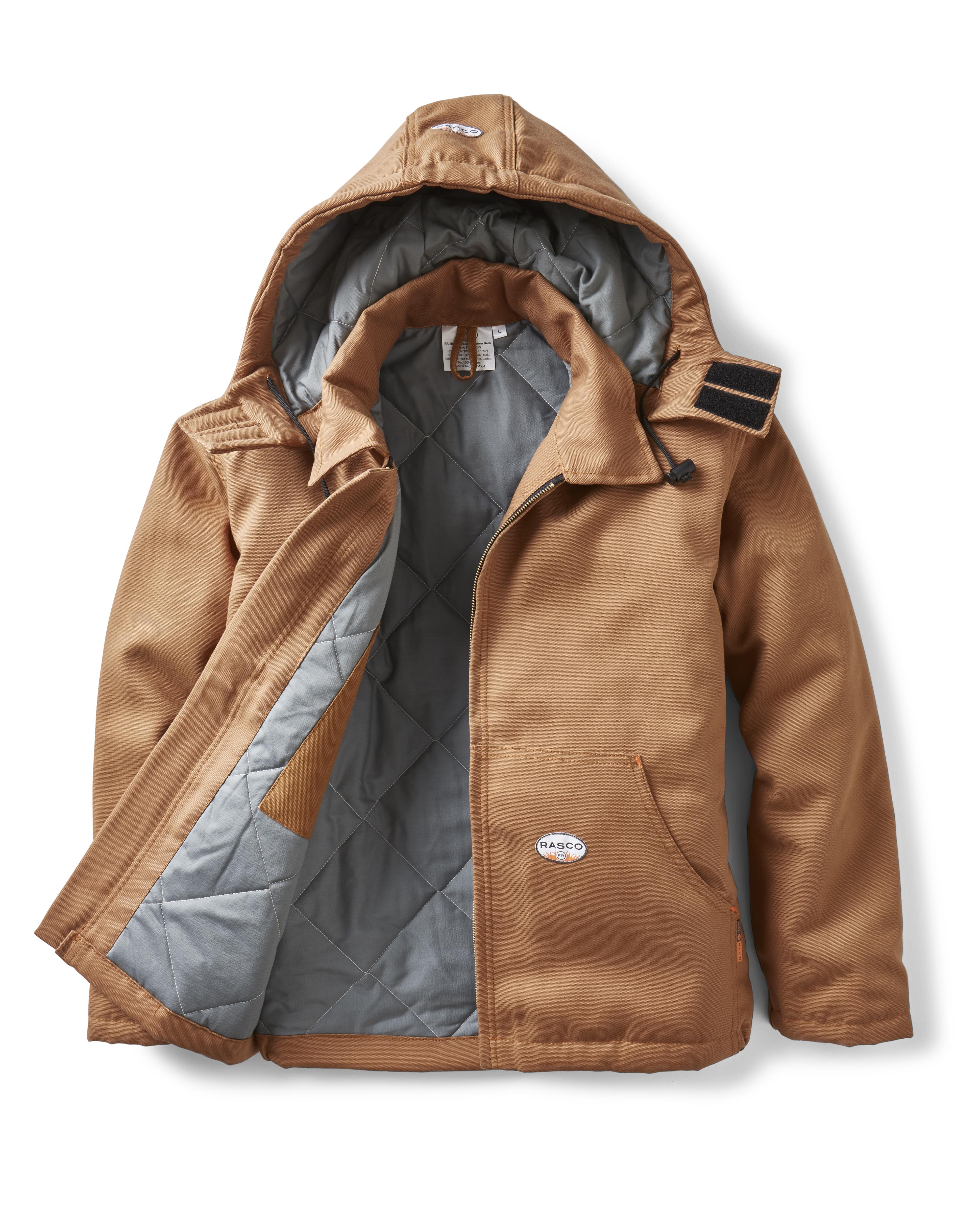 FR Duck Hooded Jacket-