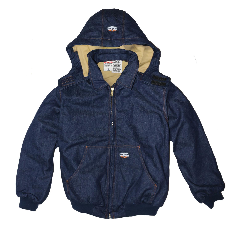 FR Denim Hooded Jacket