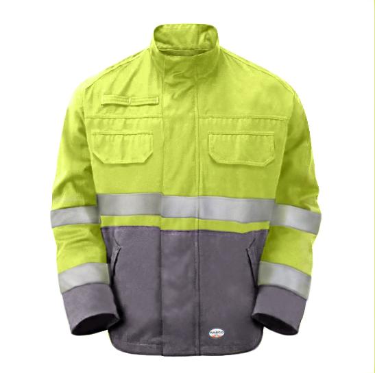 FR GlenGuard Color Block Field Jacket-Rasco FR